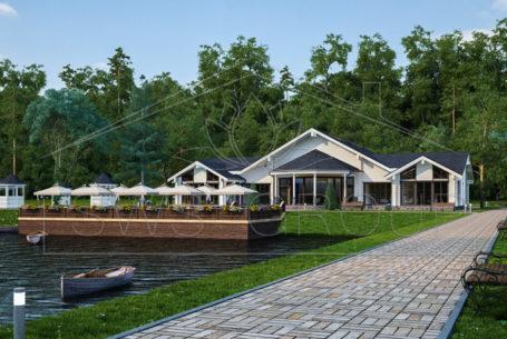 Ресторан — рыболовный клуб Тахо